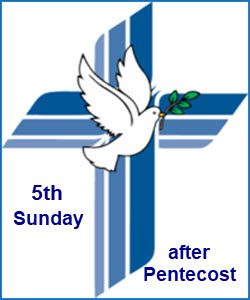 5th Sunday after Pentecost
